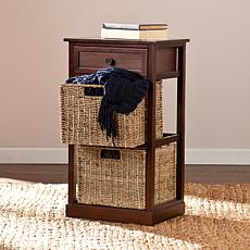 Lewis 2-Basket Storage Shelf