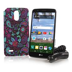 """LG 5.7"""" 16GB TracFone with 13MP Camera and 1200 Min/Text/Data"""