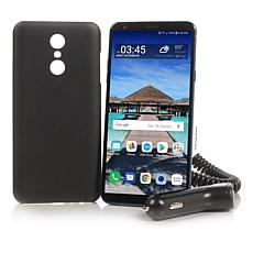 """LG 6.2"""" HD 16GB Tracfone with 13MP Camera and 1200 Min/Text/Data"""