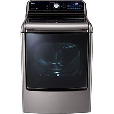 LG 9.0 cu. ft. Mega Capacity Electric Steam Dryer