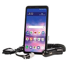 "LG Journey 5.45"" HD+ Tracfone w/1500 Min/Text/Data & 3.5mm Headphones"