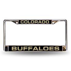 License Plate Frame - University of Colorado