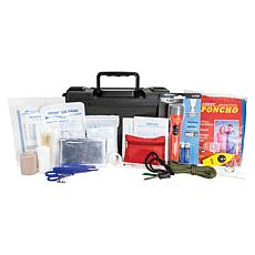 LIFE+GEAR 41-3815 150pc Waterproof First Aid and Survival Kit Ammo Can