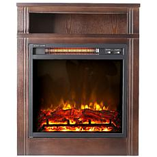 "Lifesmart 28"" Infrared Fireplace Heater"