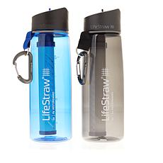 LifeStraw 2-pack Two-Stage Water Filter Bottle Set