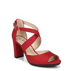 LifeStride Allison Strappy Block-Heel Sandal