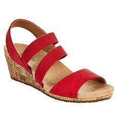 LifeStride Mariana Slingback Wedge Sandal