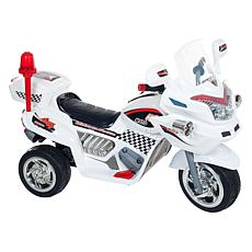 Lil' Rider Ride-On Police Connection Trike - White
