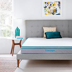 "Linenspa Essentials 8"" Gel Memory Foam Hybrid Mattress - King"
