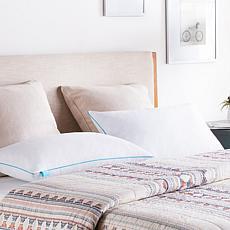 Linenspa Essentials Shredded Memory Foam Pillows – Set of 2 – Standard
