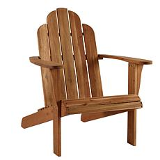 Linon Home Sam Teak Adirondack Chair - Brown