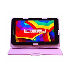 """LINSAY 7"""" 32GB Android 10 Tablet with Protective Case"""