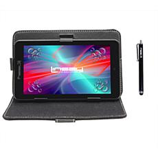 "LINSAY® 7"" Quad-Core Android 10 16GB Tablet w/Case and Apps"