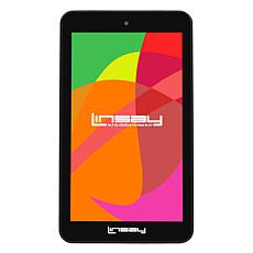 """LINSAY® 7"""" Quad-Core Android 10 16GB Tablet with App Suite"""