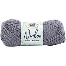Lion Brand Nuboo Yarn - Pewter