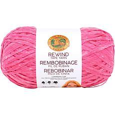 Lion Brand Rewind Yarn - Think Pink