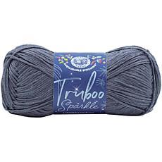 Lion Brand Truboo Sparkle Yarn - Thunder
