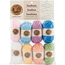 Lion Brand Yarn Bonbons 8 Pack - Pastels