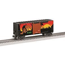 Lionel Trains Disney The Lion King Scar Hi-Cube Model Train Boxcar