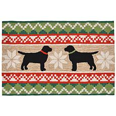 "Liora Manne Nordic Dogs Rug - 30"" x 48"""