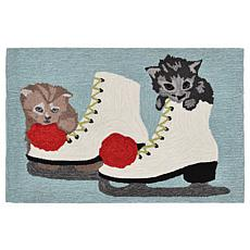 "Liora Manne Skates And Kittens Rug - 24"" x 36"""