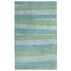 "Liora Manne Stripes Sea Rug - Breeze - 42"" x 66"""