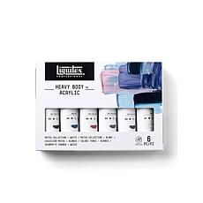 Liquitex Heavy Body Acrylic Muted Collection Set of 6