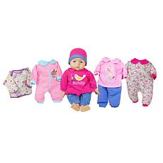 "Lissi Doll 18"" Talking Baby Set"