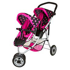 Lissi Twin 3-Wheel Double Push Jogger