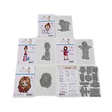 Little Darlings Amazing Girls Rubber Stamps