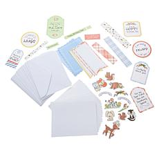 Little Darlings Fawn'd of You Ephemera 18-Card Kit