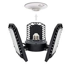 Living Glow Ultra-Bright 8,000 Lumen 360-Degree Light w/Motion Sensor
