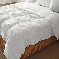 LoftWorks PinTuck Down Alternative Comforter - White, King
