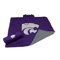 Logo Chair All-Weather Blanket - Kansas State Un.