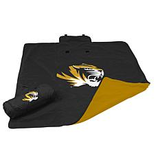 Logo Chair All-Weather Blanket - University of Missouri