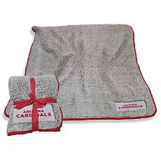Logo Chair Officially Licensed NFL Frosty Fleece - Arizona Cardinals