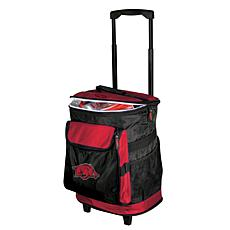 Logo Chair Rolling Cooler - University of Arkansas
