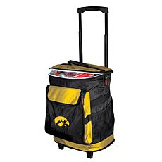 Logo Chair Rolling Cooler - University of Iowa