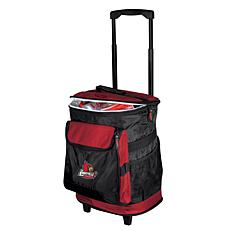 Logo Chair Rolling Cooler - University of Louisville