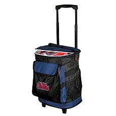 Logo Chair Rolling Cooler - University of Mississippi