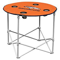 Logo Chair Round Table - Denver Broncos