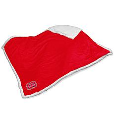 Logo Chair Sherpa Throw - North Carolina State