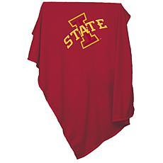 Logo Chair Sweatshirt Blanket - Iowa State University