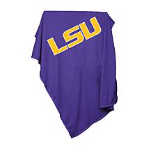 Logo Chair Sweatshirt Blanket - Louisiana State Un.