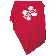 Logo Chair Sweatshirt Blanket - University of Nebraska