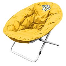 Logo Chair Yellow Sphere Chair - Nashville Predators