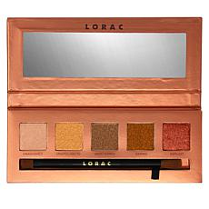 LORAC Unauthorized Unzipped Eyeshadow Palette with Brush