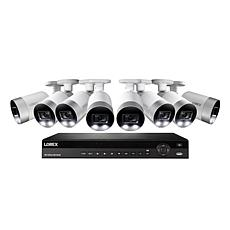 Lorex 4K UHD 16-Channel Security System w/3TB NVR & 8 Ultra HD Cameras