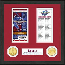 Los Angeles Angels 2002 World Series Ticket Collection