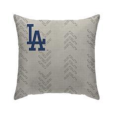 """Los Angeles Dodgers 18""""X18"""" Duck Cloth  Décor Pillow"""